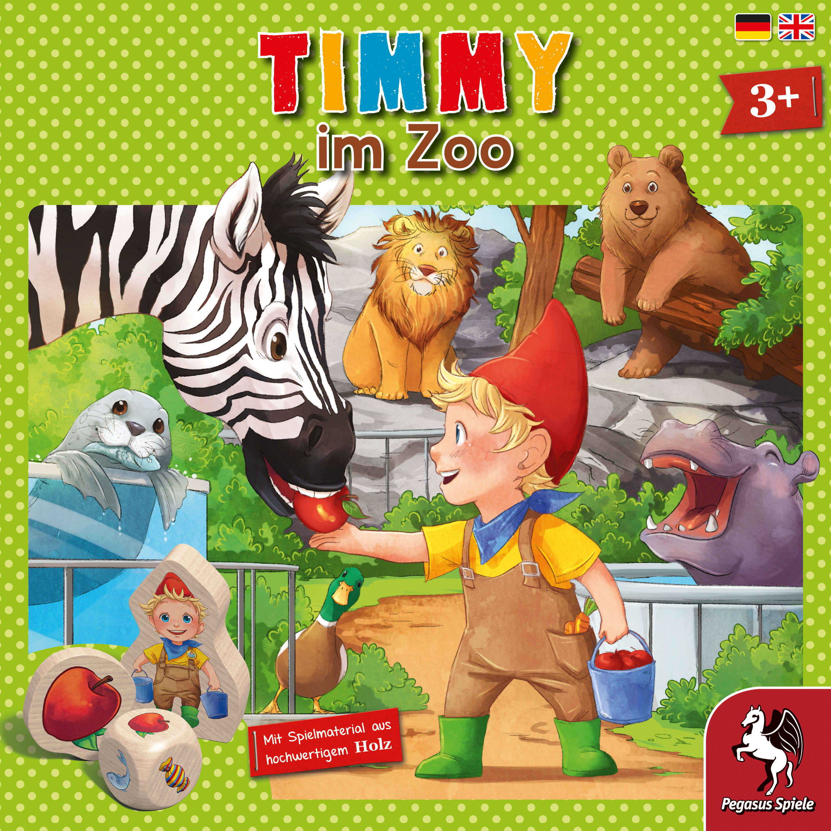 Timmy im Zoo | Timmy | Themengebiete | Games | Pegasus.de - Playing is  passion!